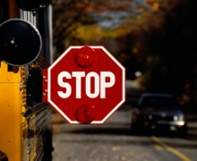 Lexington personal injury attorney reports that a distracted driver hit a school bus in Kentucky