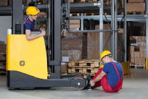 Our Kentucky workers compensation attorneys report that forklifts can create hazard for workers.